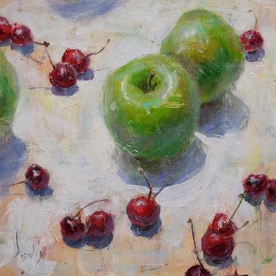 Derek Penix, 'Apples and Cherries', 2015
