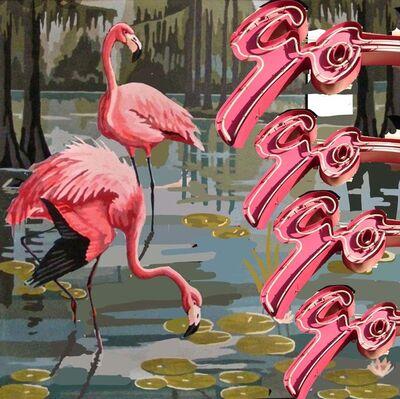 Melissa Sims, 'Flamingo-go-go-go', 2021