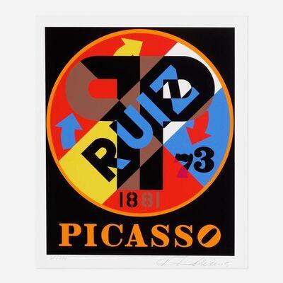 Robert Indiana, 'Picasso', 1997