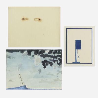 David Scher, 'collection of three works'