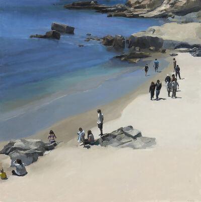 Stephen Coyle, 'Beach Stroll, Laguna Beach', 2018