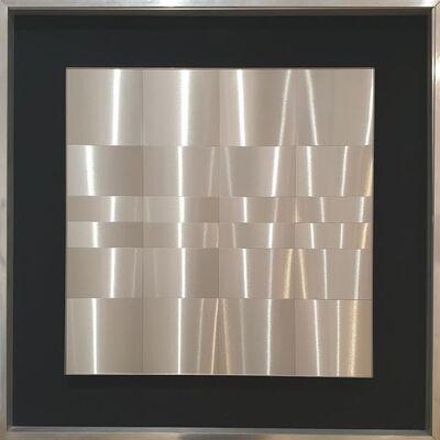 Getulio Alviani, 'Superficie a testura vibratile', 1964