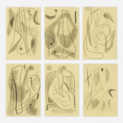 Carl Holty, 'Untitled (six works)'