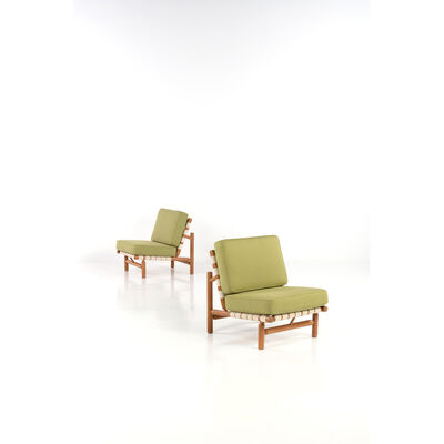 Ilmari Tapiovaara, 'Pair of armchairs', crica 1950