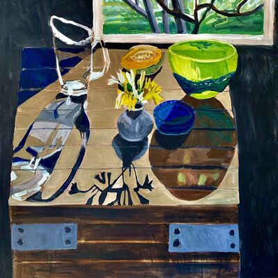 Kate Nielsen, 'Still Life With Green Bowl', 2021