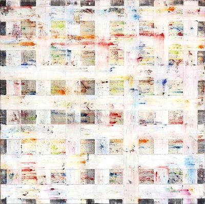 Petra Rös-Nickel, 'White Grid I', 2020