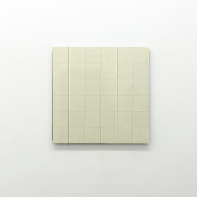 Hartmut Böhm, 'Raster aus sechs identischen rechtecken', 2015
