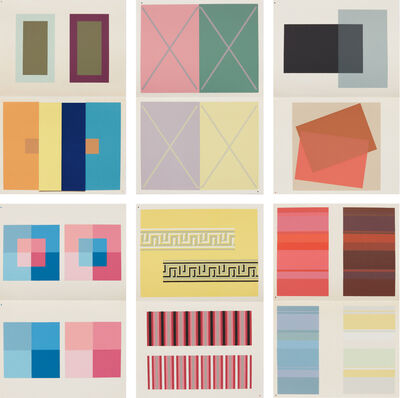 Josef Albers, 'The Interaction of Color', 1963
