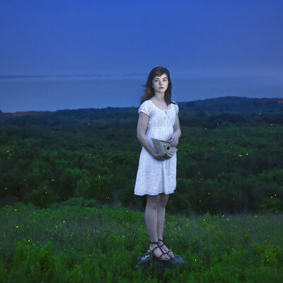 Cig Harvey, 'Devin and the Fireflies, Rockland, Maine', 2010