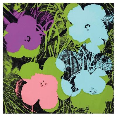 Andy Warhol, 'Flowers F&S ll.64', 1970