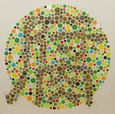 Hiroomi Ito, 'Color Vision Test Painting: Rotten Taste', 2015