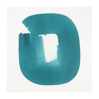 Veronique Gambier, 'Aperture in Turquoise XXI', 2015