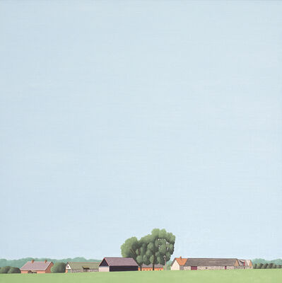 Jeroen Allart, 'Skane Lane IV - Landscape painting', 2017