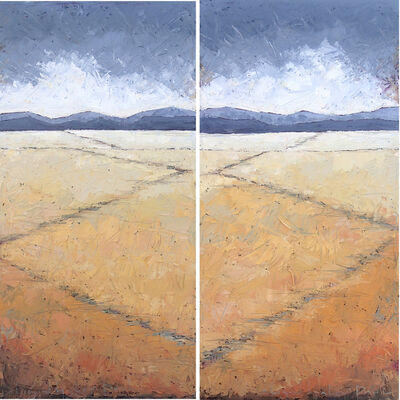 Alison Haley Paul, 'Hither (left panel), Yon (right panel)'
