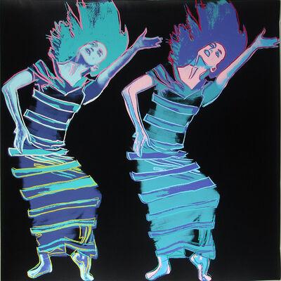 Andy Warhol, 'Martha Graham: Satyric Festival Song II.387', 1986