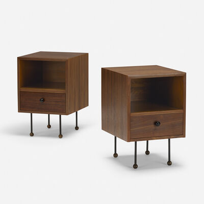 Glenn of California, 'nightstands, pair', c. 1952