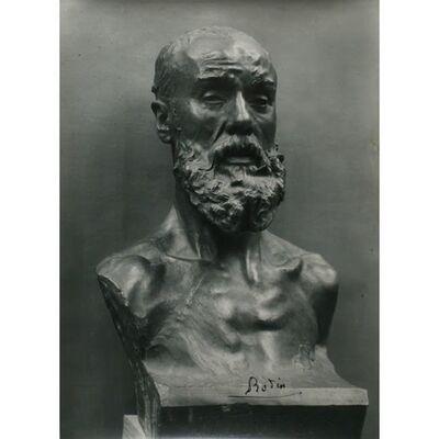 Auguste Rodin, 'Buste de Jean-Paul Laurens', ca. 1913
