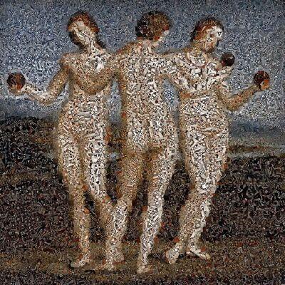 Andrea Morucchio, '(GVA) Puzzling - Revisiting Raffaello's Three Graces', 2018