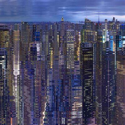 Didier Fournet, 'NYC Gotham City', 2018