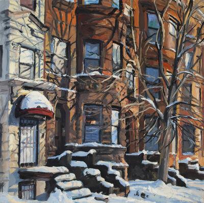 George Nick, 'Fresh Snow, Back Bay, January 2010', 2010