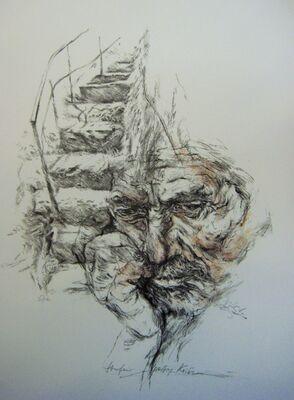 Hetty Krist, 'Hermann Hesse - Steps'