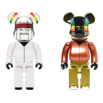 BE@RBRICK, 'Daft Punk Discovery Tour Suit 400% Bearbrick Set by Medicom Toy', 2018