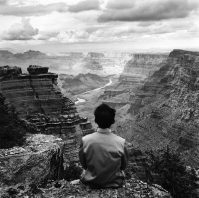 Tseng Kwong Chi, 'Grand Canyon, Arizona', 1987