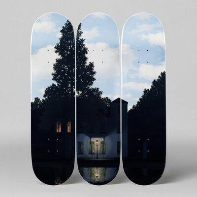 René Magritte, 'L'empire des Lumières Skateboard Decks by René Magritte', 2018