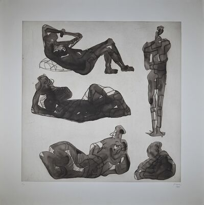 Henry Moore, 'Five sculptural ideas', 1980