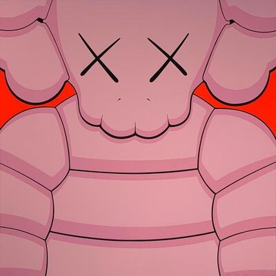 KAWS, 'What Party - Light Pink', 2020