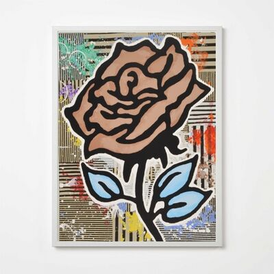 Donald Baechler, 'Brown Rose', 2015