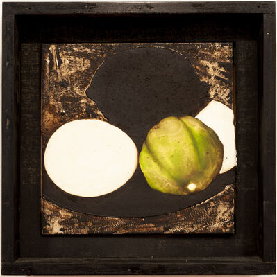 Donald Sultan, 'Two Eggs a Lime and a Lemon June 3, 1985', 1985