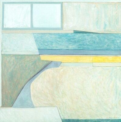 Ellen Sinel, 'Landscape for a Party with Tennis Court'