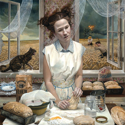 Andrea Kowch, 'In the Distance', 2015