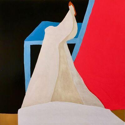 Kyla Kegler, 'Legs on Blue Chair', 2019