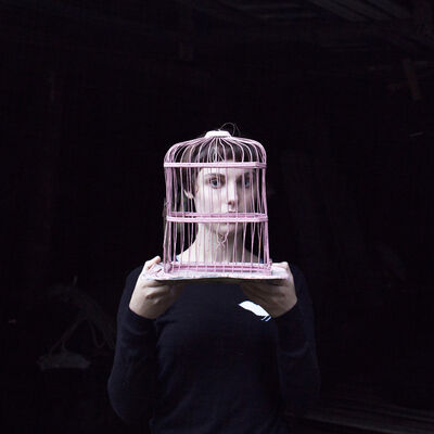 Cig Harvey, 'Sadie & The Birdcage, Tenant's Harbor, Maine', 2013