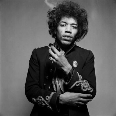 Gered Mankowitz, 'Jimi More Smoke, Mason's Yard, London', 1967