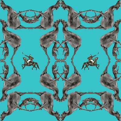 Saule Dyussenbina, 'Gothic Ornament', 2021