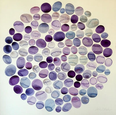 Idoline Duke, 'Purple Pools', 2017