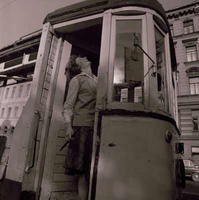 Boris Savelev, 'Leningrad, Tram conductor', 1979