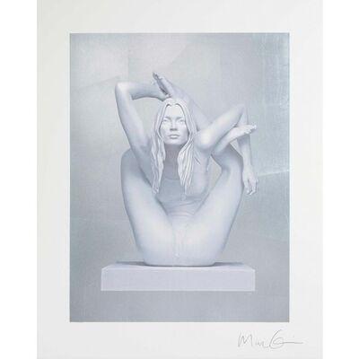 Marc Quinn, 'Sphinx (silver leaf)', 2011