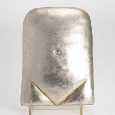 Xawery Wolski, 'Silver Torso Polish French Modern Gilt Sculpture', 20th Century