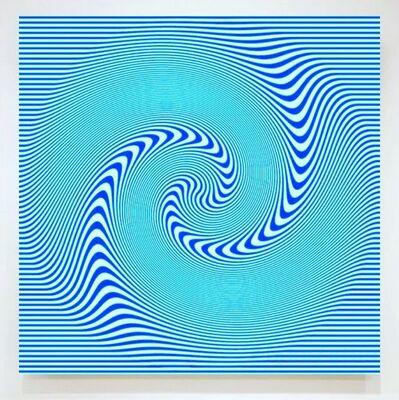 John Zoller, 'John Zoller, Blue Spiral Galaxy', 2018