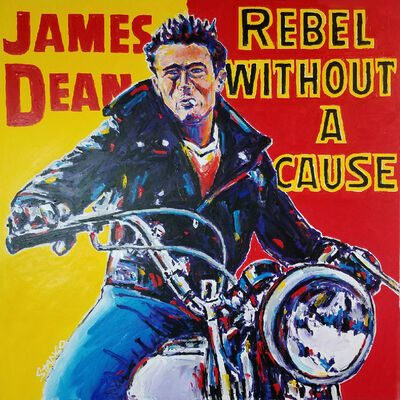 John Stango, 'James Dean ', 2018
