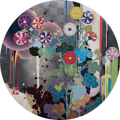 Takashi Murakami, 'With Reverence, I Lay Myself Before You-Kōln Chrysanthemum', 2009