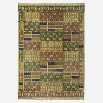 Marta Maas-Fjetterstrom AB, 'Angarna flatweave carpet', 1928