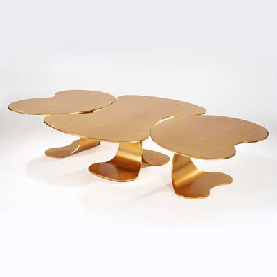 Hubert Le Gall, 'Cyclades Doree Coffee Table', 2009