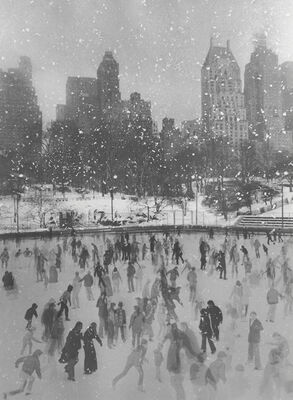 Ed Pfizenmaier, 'Wollman Rink, New York City', 1954