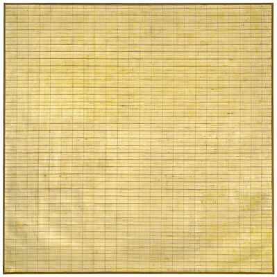 Agnes Martin, 'Friendship', 1963