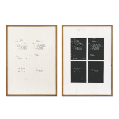 Joseph Beuys, 'Gletscher Schwamm Totenbett', 1979